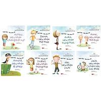 Combo Sách Kỹ Năng Sống Dành Cho Học Sinh - Super kids - Siêu nhân nhí - Ashley, Siêu Nhân Chống Bắt Nạt + Derek, Siêu Nhân Thể Thao + Avika, Siêu Nhân Trung Thực + Anne, Siêu Nhân Tình Bạn + Arnold, Siêu Nhân Lễ Phép + Isabel, Siêu Nhân Thông Thái + Jay, Siêu Nhân Ý Chí + Jack, Siêu Nhân Chăm Sóc Sức Khỏe - (Tặng Kèm Bookmark Phương Đông)