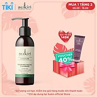 Sữa Rửa Mặt Tạo Bọt Sukin Foaming Facial Cleanser 125ml
