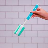 Cây cọ rửa bình nước/bình sữa Kokubo cán có thể điều chỉnh ngắn/dài tùy biến từ 28,5~37,5cm - made in Japan