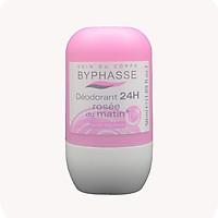 Lăn khử mùi màu hồng Byphasse Rosée du matin (50ml)