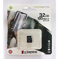 Thẻ nhớ Kingston microSDHC Canvas Select Single Pack no Adapter 32GB - Hàng Chính Hãng