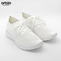 Giày thể thao nữ cao cấp Urban TL2008 màu trắng thời trang