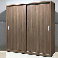 Tủ Quần Áo Cửa Lùa Cao Cấp Gia Đình FINE FT234 (Kích thước 1m8) Thiết kế sang trọng hiện đại