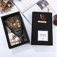 Hộp quà hoa khô handmade kèm thiệp