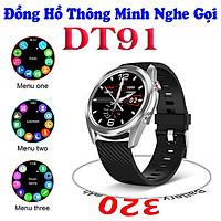 Đồng hồ thông minh DT91 nghe gọi giá rẻ , Thay đổi hình nền cá nhân tùy ý , nhận thông báo app , ngôn ngữ Tiếng Việt + Anh