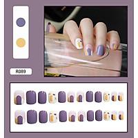 Set 24 móng tay giả Nail Box - Mã R089
