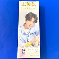 Hộp ảnh Bookmark VƯƠNG TUẤN KHẢI TFBOYS idol thần tượng đánh dấu trang kẹp sách xinh xắn