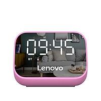 Lenovo TS13 Wireless BT Speaker Portable Wireless Subwoofer Stereo Speaker Audio Player Single Alarm Clock Mirror Design