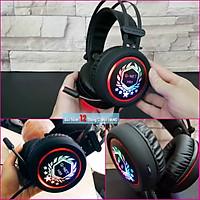 Tai nghe Gaming G-Net H99 chuyên game, có mic, LED nhiều màu, Jack tròn 3.5mm I Gaming Head Phone Gnet H99 LED