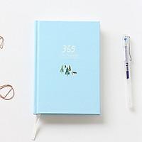Sổ tay planner 365 , bìa xanh nhạt, 228 trang