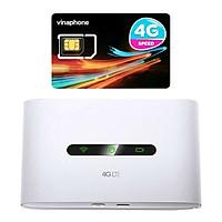 Bộ Phát Wifi 3G/4G Tốc Độ Cao + Sim 4G Vinaphone | khuyến Mãi 60GB/Tháng Tp-link M7300 - Hàng chính hãng