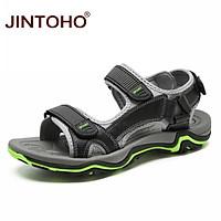 Giày Sandal Da Đi Biển Thời Trang Cho Nam