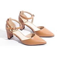 Giày Sandal Pixie Bít Gót 5p X406