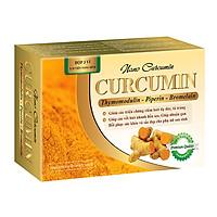 Thực Phẩm Chức Năng Nano Curcumin hỗ trợ điều trị loát dày tá trang, hóa xạ trị