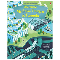 Usborne See Inside Bridges, Towers & Tunnels