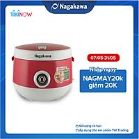 Nồi cơm điện Nagakawa NAG0101 (1.8 Lít) - Màu Đỏ - Hàng chính hãng