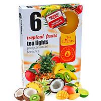 Hộp 6 nến thơm tinh dầu Tealight Admit Tropical Fruits QT026055 - trái cây nhiệt đới