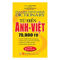 Từ Điển Anh – Việt 75.000 Từ
