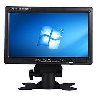 Màn Hình LCD 7 Inch Gắn Xe Ô Tô HD 1024p - 1024*600 - Pixels Có Cổng HDMI, VGA & AV Input