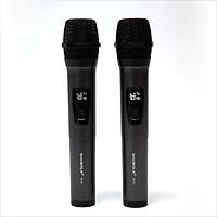 Micro Karaoke Không Dây Đa Năng Shubole SV-8 Gồm 2 Micro Chuyên Dụng Loa, Amply Sử Dụng Đầu Thu Mini Kết Nối Cực Xa Lên Tới 35m - Hút Âm Cực Tốt - Hát Cực Nhẹ - Kèm 1 Jack Chuyển Đổi 6. Qua 3. - Hàng Chính Hãng