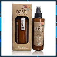 Xịt xả khô Nashi Argan Instant hydrating styling mask dưỡng ẩm phục hồi tóc siêu mượt 150ml