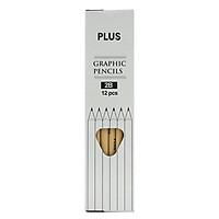 Bút Chì Plus 06-V010 (Hộp 12 PCS)