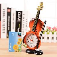 Đồng Hồ Báo Thức Để Bàn Hình Đàn Violin Độc Đáo GT99 New