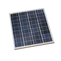 Tấm Pin Năng Lượng Mặt Trời 18V 35W Polysilicon (Khung Nhôm) - 518x457x17mm