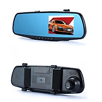 Automobile Data Recorder 4.3 Inch HD Night Vision Dual Camera in Japanese Reversing Image