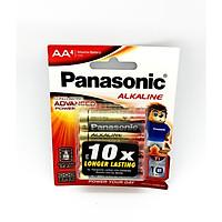 Vỉ 4 Viên Pin AA Panasonic ( Pin Tiểu ) LR6T/4B - Made In ThaiLand ( Hàng Chính Hãng )