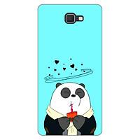 Ốp lưng dẻo cho Samsung Galaxy J7 Prime _Panda 04