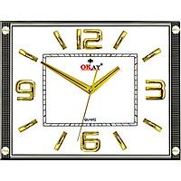 Đồng hồ treo tường thiết kế đẹp OKAY 132