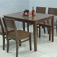 Bộ bàn ăn gia đình giá rẻ 4 ghế Cherry – Đủ màu