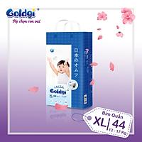 Bỉm quần GOLDGI+ Size XL 44 miếng (cho trẻ từ 12-17kg)