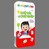 Flashcard - 42 Thẻ Chữ Cái Và Chữ Ghép Đánh Vần Tiếng Việt