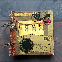 Album Ảnh Handmade Scrapbook THE JOURNEY OF LOVE