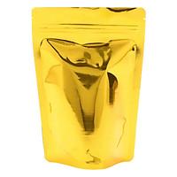 Túi Zip Màu Gold  Đáy Đứng Màng Ghép Mpet (1Kg)