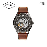 Đồng hồ nam FOSSIL Forrester dây da ME3178 - màu xám