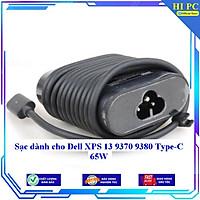 Sạc dành cho Dell XPS 13 9370 9380 Type-C 65W - Hàng Nhập khẩu