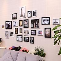 Bộ 23 Khung ảnh Treo Tường Composite Phòng Khách Hiện Đại KA2302