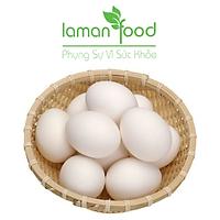 [Chỉ giao HCM] - Trứng Vịt Đồng - Laman Food-Tươi, Ngon - Giao Hàng Siêu Tốc - 10 Trứng