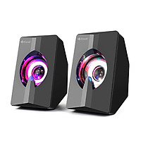 Loa Vi Tính Mini USB 2.0 Kisonli L2020 Loa LED Âm nhạc stereo cho máy tính - HÀNG CHÍNH HÃNG