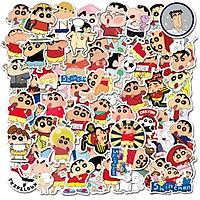 Sticker 50 miếng hình dán Shin Cậu bé chút chì