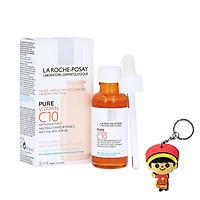 Tinh chất Trắng Da & Giảm Nhăn La Roche-Posay Pure Vitamin C10 Serum (30ml,tặng kèm móc khóa)