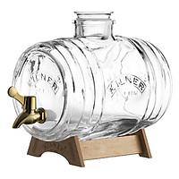 Bình nước thủy tinh Kilner Barrel - 3.5lít