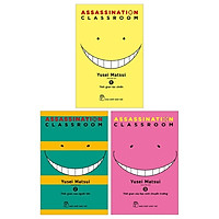 Combo ASSASSINATION CLASSROOM: 1 + 2 + 3 (Bộ 3 Tập)