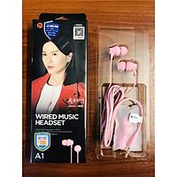 Tai nghe Pisen In - Ear Headphone A1 Hồng _ Hàng chính hãng