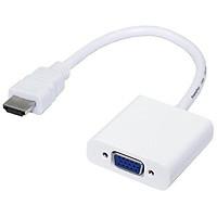Cáp chuyển đổi HDMI ra VGA - HDMI to VGA KHÔNG CÓ ÂM THANH