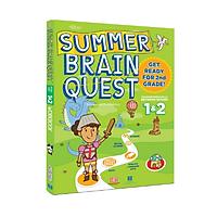 Summer brain quest 1&2 - Sách phát triển tư duy - Genbooks ( Tiếng Anh, 6 - 7 tuổi )
