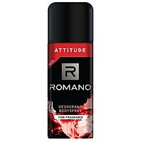 Xịt Khử Mùi Toàn Thân Cho Nam Romano Attitude (150ml)
